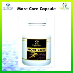 Unisex Pack Of 120 Capsule KCI More Core, Patiala