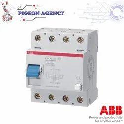 ABB -  RCCB - F204 AC-125 - 0,1 - 4 Pole