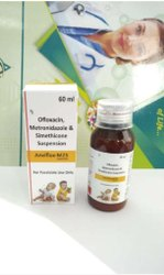 Ofloxacin Metronidazole And Simethicone Suspension
