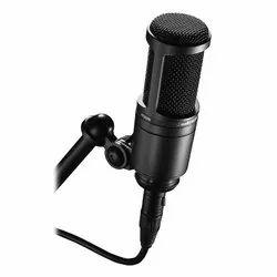 有线演播室录制音频技术AT2020麦克风