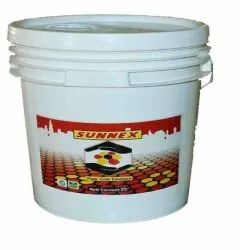 Red Sunnex Floor Emulsion Paint, For Domestic Use, Packaging Type: Bucket