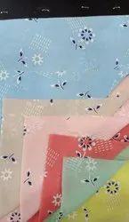 Crux Chiffon Printed Fabric, Floral