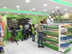 Patanjali Store Rack