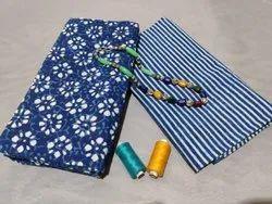 Blue Color Designer Cotton Suit