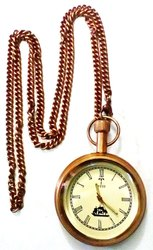 TORA Brass Pocket Watch
