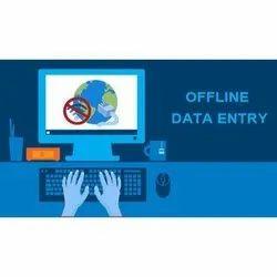 Offline Date Entry Work