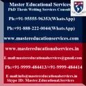PhD Thesis Writing Services On Social Media Marketing In India