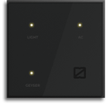 Capacitive Grey 2m Zemote Glass Finish Wifi Smart Touch Switches, 5 A