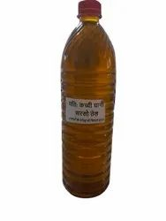 Lowers Cholesterol 1 Liter Kachi Ghani Mustard Oil, For Cooking