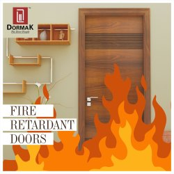 Fireproof DORMAK Fire Retardant Doors