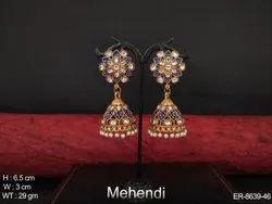 Moti Jhumka Earrings