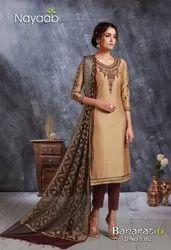 Fancy Banarasi Dupatta Suit