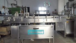 Automatic High-Speed Vial Sticker Labelling Machine