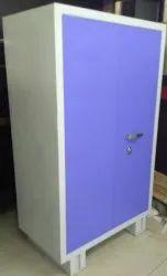 MC Brown Blue Godrej Steel Almirah, For Office, Size: 6*3 Ft