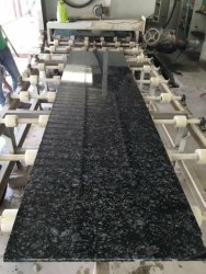 Pan India Pearl Black Granite, Slab, Thickness: 15-20mm