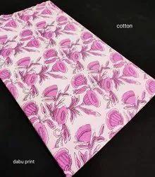 Dabu Print Cotton Fabric Suit