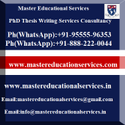 MS Thesis Writing Services In India