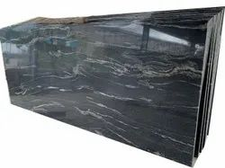 Polished Big Slab Titanium Black Granite Slabs, For Flooring