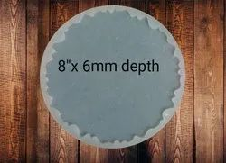 SILICONE 8 X 6MM AGATE COASTER MOLD - URP101-RM
