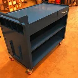 Mild Steel Storage Trolley