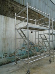 Aluminium Scaffolding Ladders