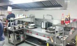 Hotel Kitchen Steel Equipments