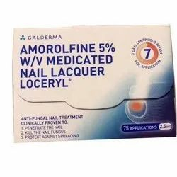 Amorolfine 5% Medicated Nail Lacquer Loceryl