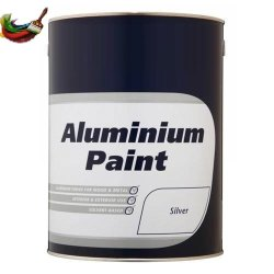 High Sheen 10 L Silver Aluminium Paint, For Wood & Metal, Packaging Type: Bucket