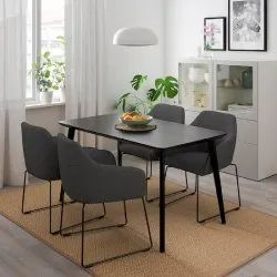 Home Texa Wooden 4 Seater Dining Table