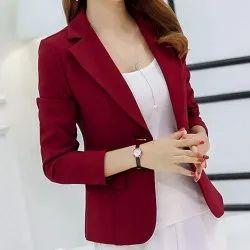 amogue Cotton Women Blazer, Size: Medium