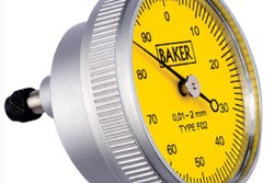 Baker Back Plunger Type Dial Gauge