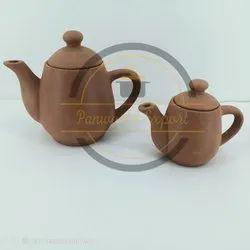 Round Terracotta Kettle, For Kitchen Storage, Capacity: 300 ml