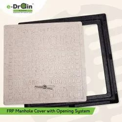 FRP Manhole Cover With Opening System