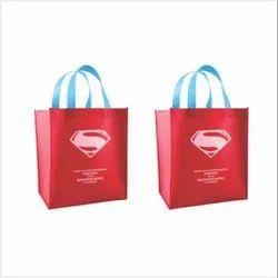 Batman Printed Non-woven Stitch Tote Bags