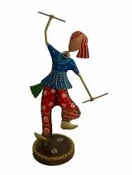 Metal Dancing People 13 Inches Tall