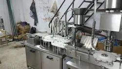 Automatic Injectable Liquid Filling And Rubber Stoppering Machine