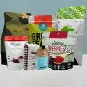 Custom Printed  Recyclable Packaging Pouches
