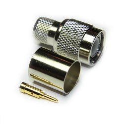 TNC Male Crimp Connector For LMR400 Coax Cable