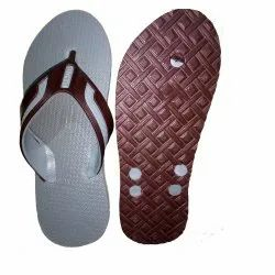 White Rubber Hawai Slippers