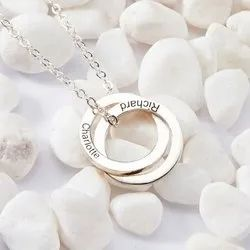 Personalized Ring Necklace
