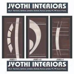 Designer Wooden Membrane Door