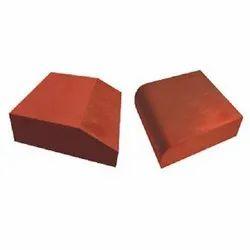 Red Concrete Kerb Stone