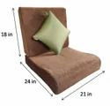 Flexi Comfort Seat Size-21x22/23/24 In And Backrest Size-21 x 18 In + Blissco Back Support