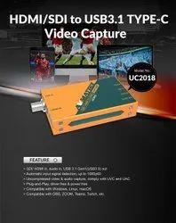 Avmatrix HDMI / SDI to USB3.1 Type-C Uncompressed Video Capture