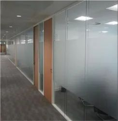 Toughened Glass Partition Service