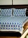 Palm Tree Printed Cotton Bedsheets