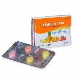 Kamagra 100mg Chewable Tabs
