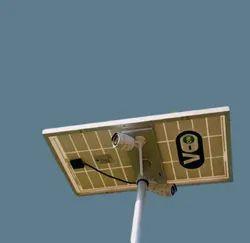 V ON Solar Cctv Camera