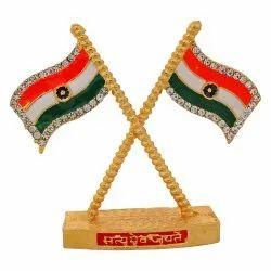 Indian National Flag / Tiranga Car Dashboard Idol