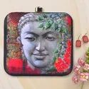 Irya Lifestyle  Buddha Printed  Clutches